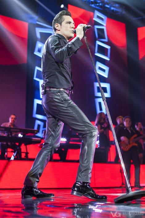 Ștefan Bănică în concertul de Crăciun 2015 București