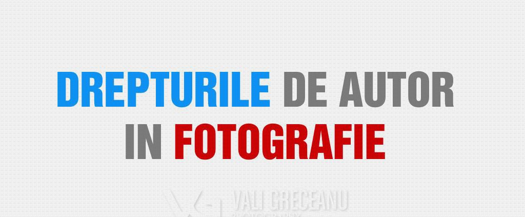 Drepturi de autor in fotografie