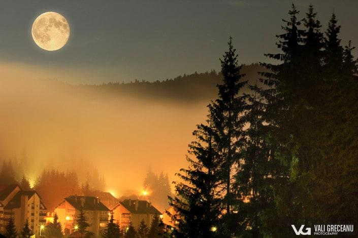 Luna Plina in Predeal