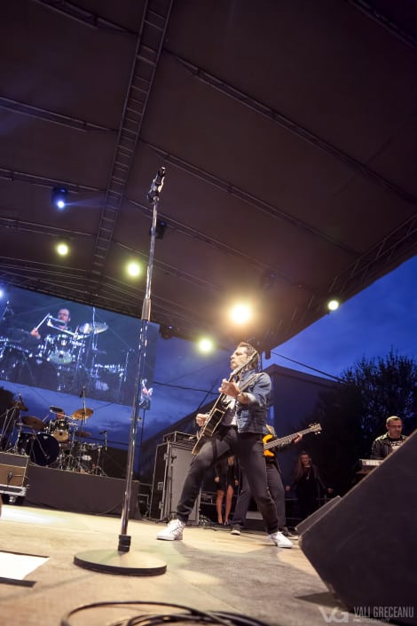 Ștefan Bănică în concert la Pitești